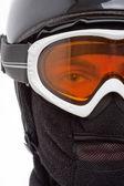 Snowboarder in balaclava — Stock Photo