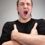Yawning man — Stock Photo #5184559
