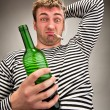 Drunk bizarre sailor — Stock Photo #5226924