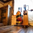 Stock Photo: Interior of old wines cellar