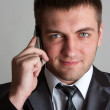 Business man with phone — Stock Photo #5346506
