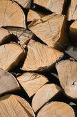 Staplade loggar — Stockfoto