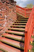 旧楼梯 — 图库照片