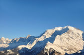 Macizo del mont blanc — Foto de Stock