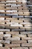 Laying pavers — Stock Photo