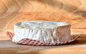 Cheese flowered rind — Stock Photo