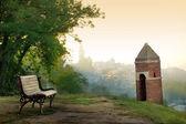 View of Belgrade from Kalemegdan fortress, Serbia — Stock Photo