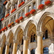Detail of Town hall in Vienna, Austria — Stock Photo