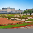 Belvedere palace in Vienna, Austria — Stock Photo #4341514