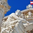 Stock Photo: Austriparliament in Vienna