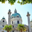 Karlskirche in Vienna - Stock Photo