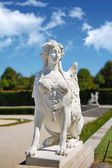 Belvedere park statue, Vienna — Stock Photo