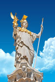 Pallas Athene in front of Austrian parliament — Stock Photo