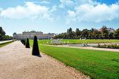 Belvedere park in Vienna, Austria — Stock Photo