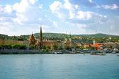 панорамный вид на будапешт — Стоковое фото