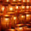 Church candles - 图库照片
