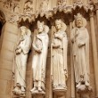 Detail of Notre dame de Paris — Stock Photo