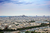 Panoramic view of Paris — Stock Photo