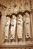 Detail of Notre dame de Paris — Stock Photo