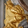 Detail from Versailles palace, France - Stock Photo