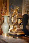 Orologio, dettaglio dal palazzo di versailles, francia — Foto Stock