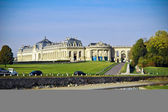 Chantilly chateau, French — Stock Photo