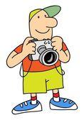 Photographer — Stock Vector