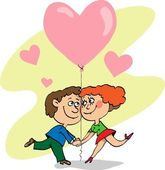 Valentine's Day, love — ストックベクタ
