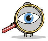 Magnifier — Stock Vector