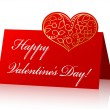 Card for Valentine — Vector de stock #4594348