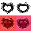 Stock Vector: Hearts for Valentine