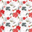 Floral repetition — Vector de stock #4792784