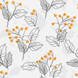Floral repetition — Vector de stock #4792968