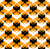 Murciélago de halloween sin costuras. — Vector de stock