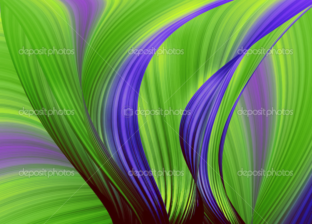 Colour bunches of lines . Abstraction — Stock Photo #5316210