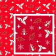 Royalty-Free Stock Vector Image: Red Christmas seamless.