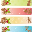 Christmas banners collections. — Stock Vector