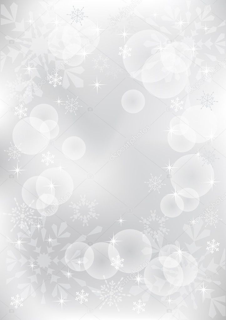 Winter background. Vector  illustration. EPS10. — Vettoriali Stock  #4271335
