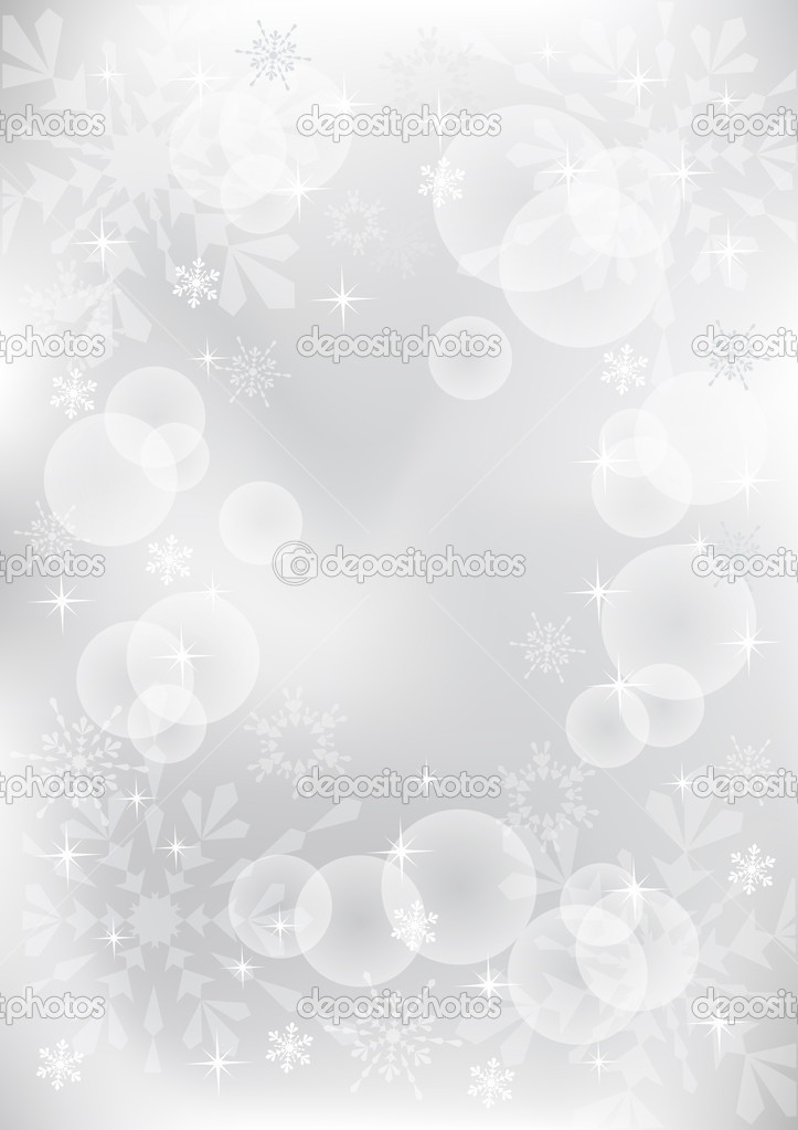 Winter background. Vector  illustration. EPS10. — ベクター素材ストック #4271335