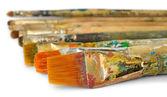 Paint brushes — Zdjęcie stockowe