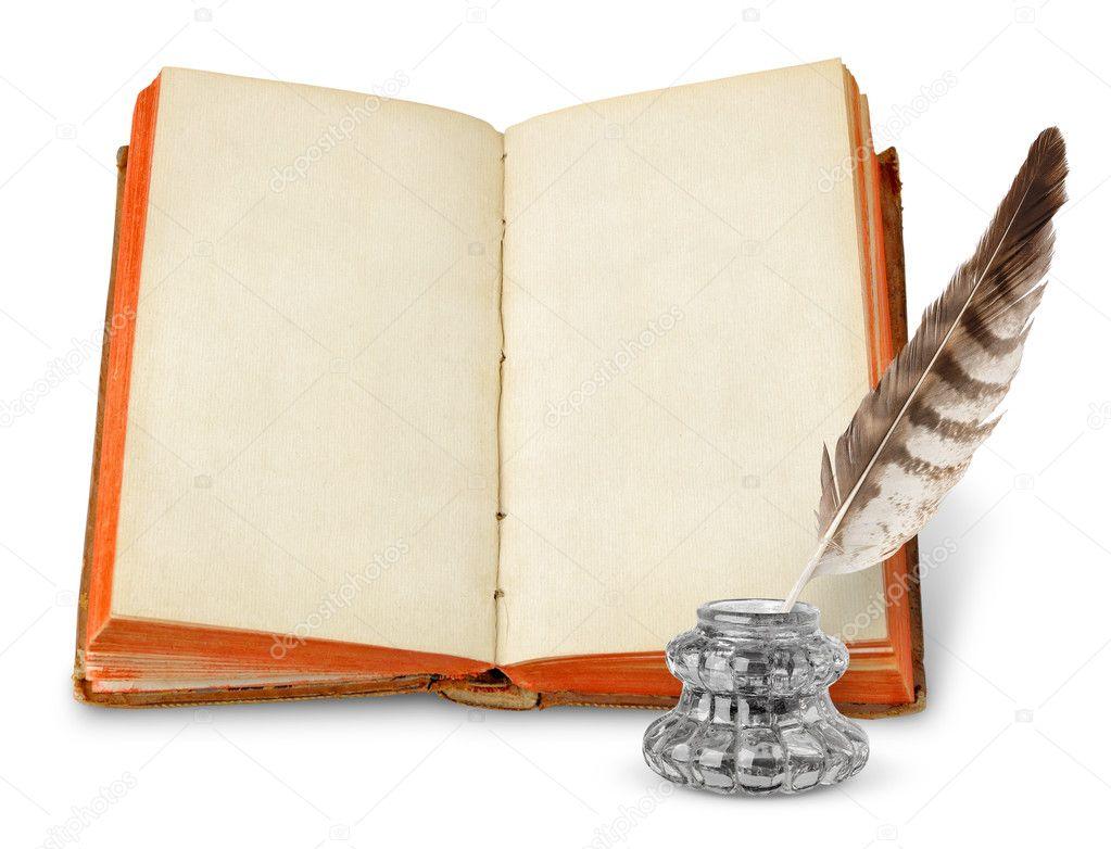 Imagen De Un Libro Abierto Para Colorear Avec Encantador: Stock Photo © Photomaru #4399945