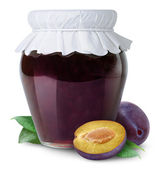 Plum jam — Stock Photo