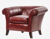 Leder arm stoel — Stockfoto