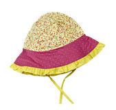 Meisjes leuke hoed — Stockfoto