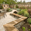 Beautiful yard — Stock Photo #4889329