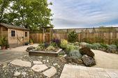 Aangelegde tuin — Stockfoto