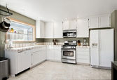 White kitchen — Stockfoto