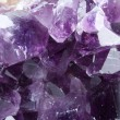 Purple mineral - amethyst — Stock Photo