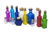 Collection of Colorful Bottle — Stock Photo