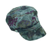 Tie Dye Commando Hat — Stock Photo